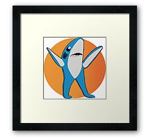 Super Bowl's Left Shark! Framed Print