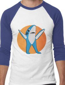 Super Bowl's Left Shark! Men's Baseball ¾ T-Shirt