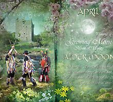April : Alder Moon by Angie Latham