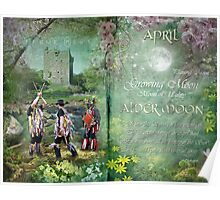 April : Alder Moon Poster