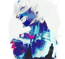 Tokyo Ghoul - Ken Kaneki (Ed Card) With Logo by Onimihawk