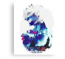 Tokyo Ghoul - Ken Kaneki (Ed Card) With Logo Canvas Print