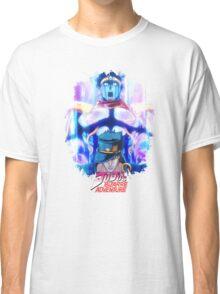 JoJo's Bizarre Adventure - Jotaro Kujo English Logo Classic T-Shirt