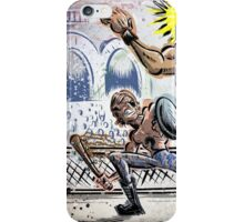Escape From New York John Carpenter Sci Fi Dystopian Future Science Fiction movie film action illustration joe badon drawing cartoon iPhone Case/Skin