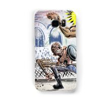 Escape From New York John Carpenter Sci Fi Dystopian Future Science Fiction movie film action illustration joe badon drawing cartoon Samsung Galaxy Case/Skin
