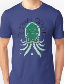 cephalopod in greens and blue Unisex T-Shirt