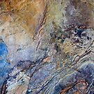 Abstract Rock Textures by Kathie Nichols