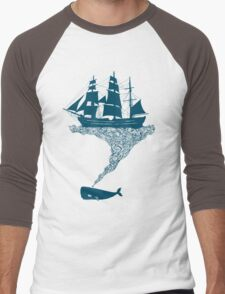 Exhaling flotsam Men's Baseball ¾ T-Shirt