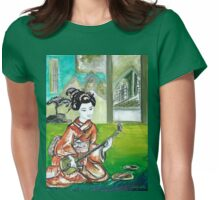 Talents of a Geisha (gay-sha) Womens Fitted T-Shirt