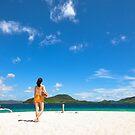 bikini girl on beach by sweetriver