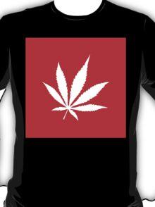 Marijuana Leaf | Lust Brick T-Shirt