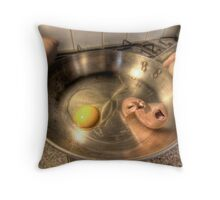 Eggsecution IV - Time to Fry Throw Pillow