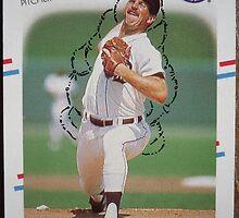 329 - Dan Petry by Foob's Baseball Cards