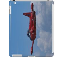 Red plane iPad Case/Skin