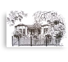 Kensington, Melbourne Victoria.  Bellair St.  Canvas Print
