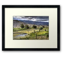 Yellow River Framed Print