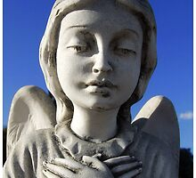 Angel Watching Over by blackberrymoose