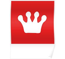 Fresh Thread Shop Crown Logo   Lust Brick Poster