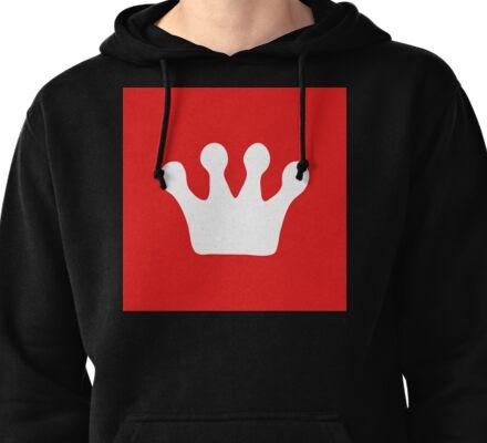 Fresh Thread Shop Crown Logo | Lust Brick Pullover Hoodie