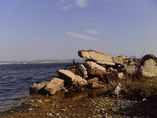 Industrial Landscape of Berre L'Etang by boldoflorine