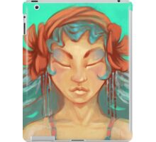 Aurora Azure   iPad Case/Skin