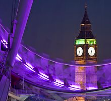 Big Ben London Eye (Alan Copson © 2008) by Alan Copson