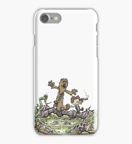 Han & Furball iPhone Case/Skin