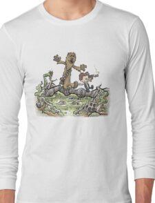 Han & Furball Long Sleeve T-Shirt