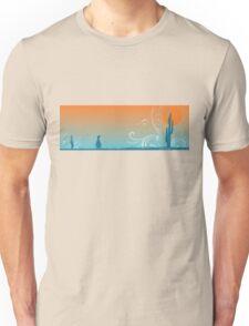 Penguin in the desert Unisex T-Shirt