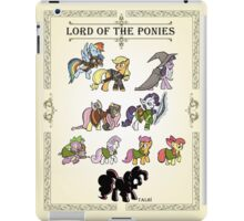 My little fellowship of the ring iPad Case/Skin
