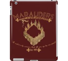 marauders shirt iPad Case/Skin