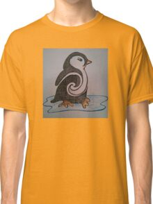 Don't Touch the Penguin Classic T-Shirt