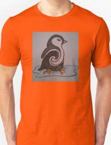 Don't Touch the Penguin Unisex T-Shirt