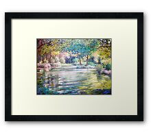 Vogel's Pond Framed Print