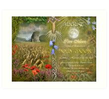 August : Holly Moon Art Print