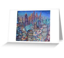 Crosstown Traffic Greeting Card