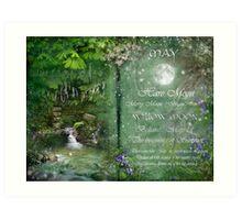 May - Willow Moon Art Print