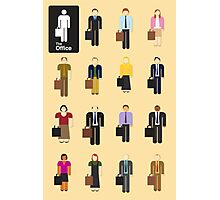 The Office TV Show Netflix Photographic Print