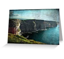 Moher Greeting Card