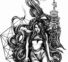 Octopus Girl  by Byron Stoddard