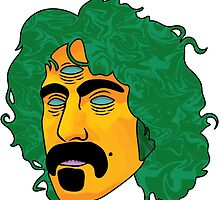 Frank Zappa  by Jacob Hoopes