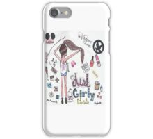 just girly idea drawing iPhone Case/Skin