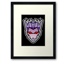TFxGB - Evil Gozerian (Faction Head) Horizon Lines Framed Print