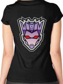 TFxGB - Evil Gozerian (Faction Head) Horizon Lines Women's Fitted Scoop T-Shirt