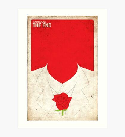 Supernatural 5x04 - The End Art Print