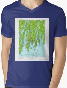 Maine USGS Historical Map Boothbay 460226 1957 62500 T-Shirt
