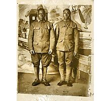 Black American World War I Infantry Soldiers Photographic Print
