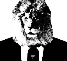 business lion by TYuceDesign