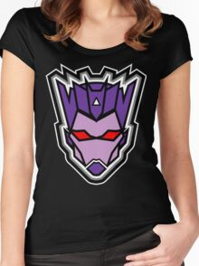 TFxGB - Evil Gozerian (Faction Head) Flat Colors Women's Fitted Scoop T-Shirt
