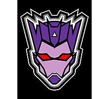 TFxGB - Evil Gozerian (Faction Head) Flat Colors Photographic Print